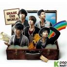 Dong Bang Shin Ki 27th Single - Share The World(Korea Version)
