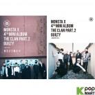 Monsta X Mini Album Vol. 4 - The Clan 2.5 Part. 2 Guilty