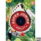 Super Junior Vol. 8 Repackage - REPLAY (Smart Music Card)