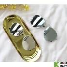 [ D ] Boing Mirror Metal Sunglasses