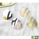 [ D ] Color Mirror Metal Sunglasses