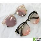 [ D ] Funk Round Fashion Sunglasses