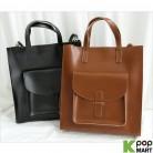 [ D ] Pocket Square Tote Shoulder Bag