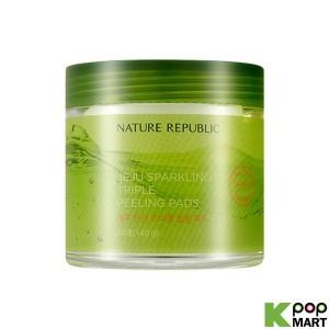 NATURE REPUBLIC Jeju Sparkling Triple Peeling Pads 1 Pack