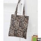 [ D ] Basic Leopard Eco bag
