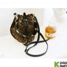 [ D ] Damier Aperture Basket Shoulder Bag