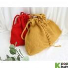 [ D ] Hepburn Bucket Knit Eco Bag