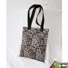 [ D ] Strap Leopard Eco Bag