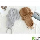 Alpaca earmuffs bonnet beanie hat