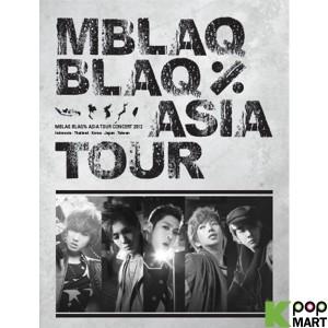 MBLAQ - THE BLAQ% TOUR MBLAQ ASIA TOUR CONCERT PHOTO BOOK [PHOTO BOOK+1DISC](International Edition)